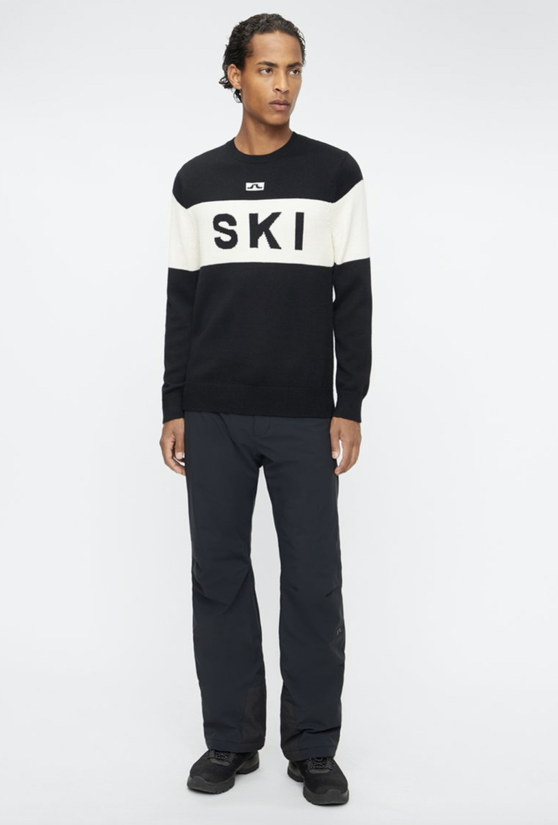 Bilde av J.Lindeberg Ken knitted ski sweather SMKW03113 9999 black
