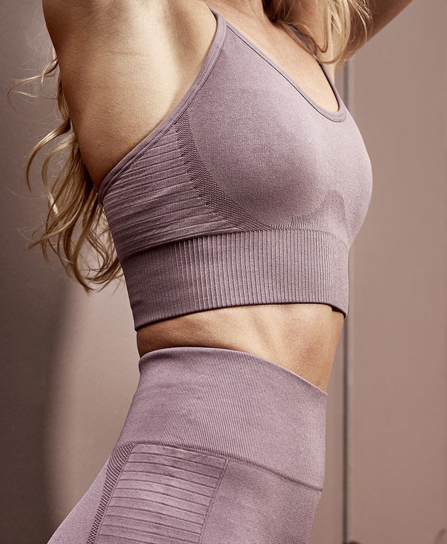 Bilde av Athlecia  Foan W Seamless Bra EA203440 4160 grey lavendel