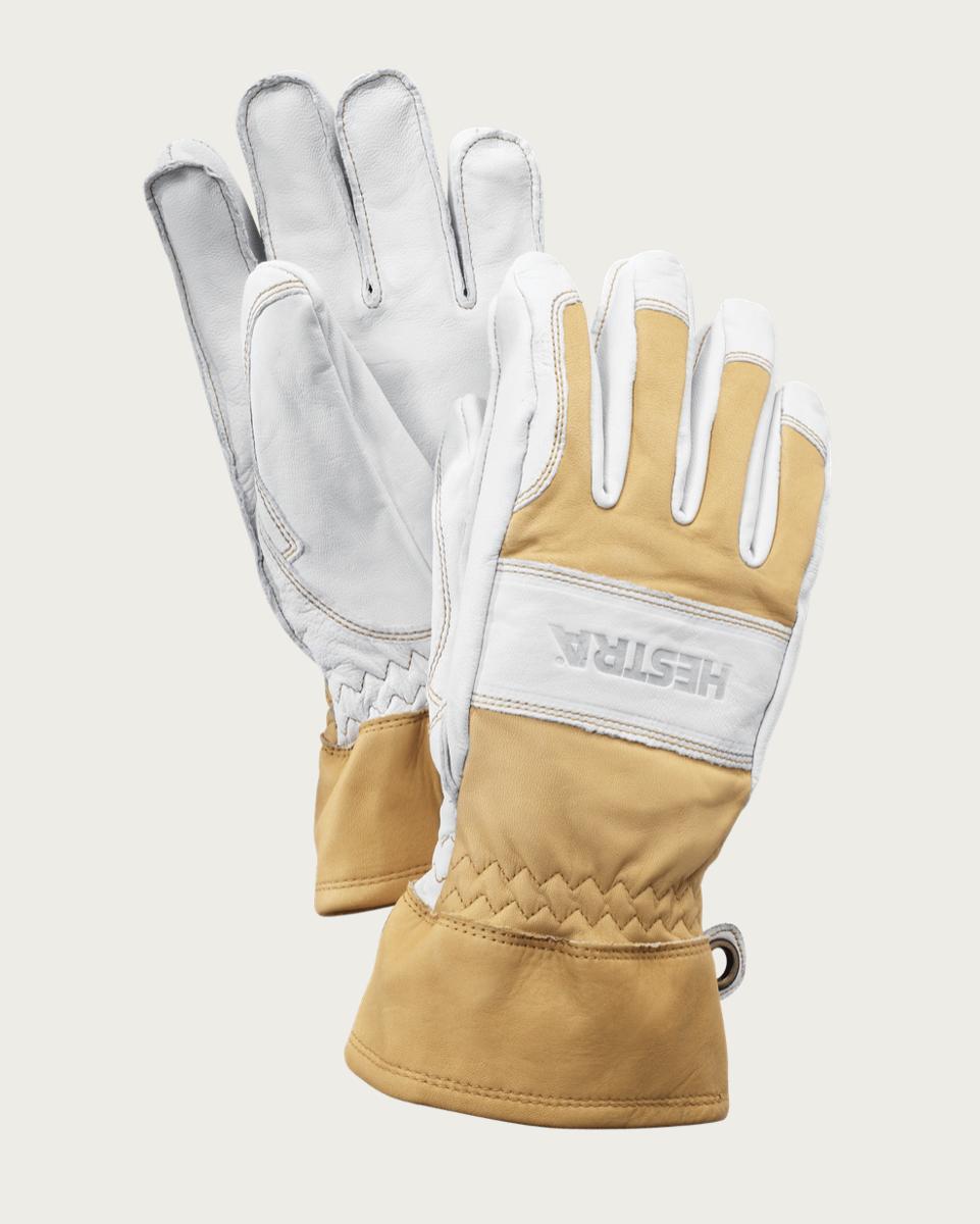Bilde av Hestra  Fält Guide Glove - 5 finger Naturgul/Offwhite
