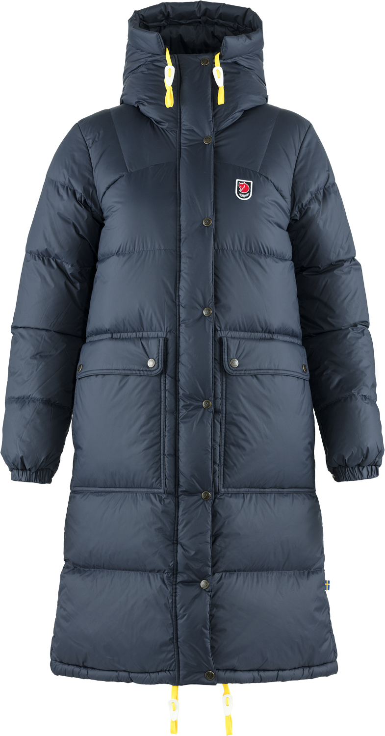 Bilde av Fjällräven  Expedition Long Down Parka W 560 Navy