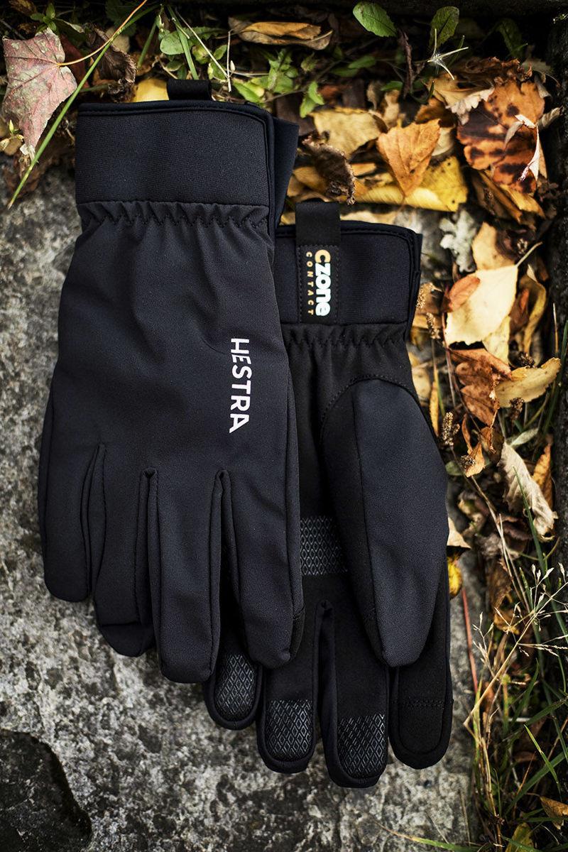 Bilde av Hestra  CZone Contact Glove -5 finger 100 Svart