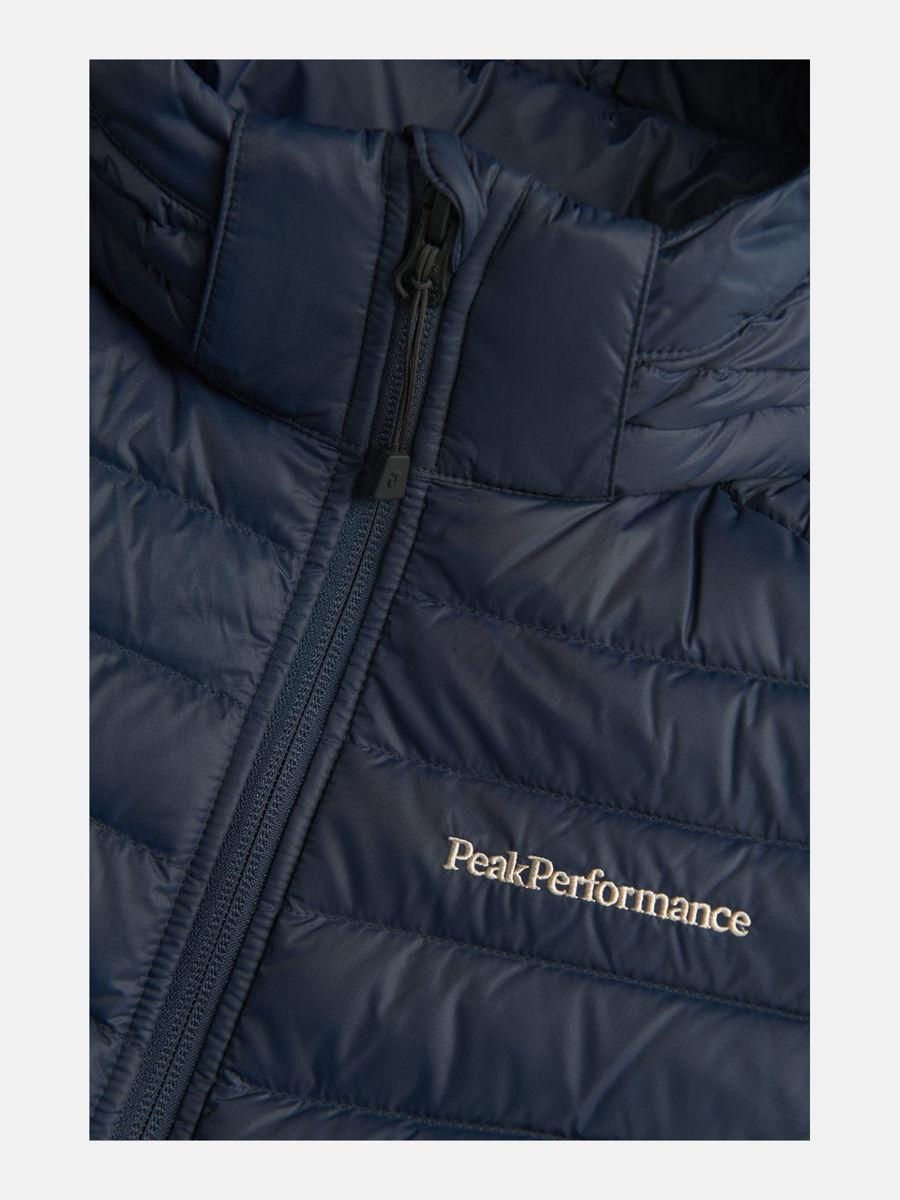 Bilde av Peak Performance  JUNIOR Frost Down Hood Jacket 2N3 Blue Shadow