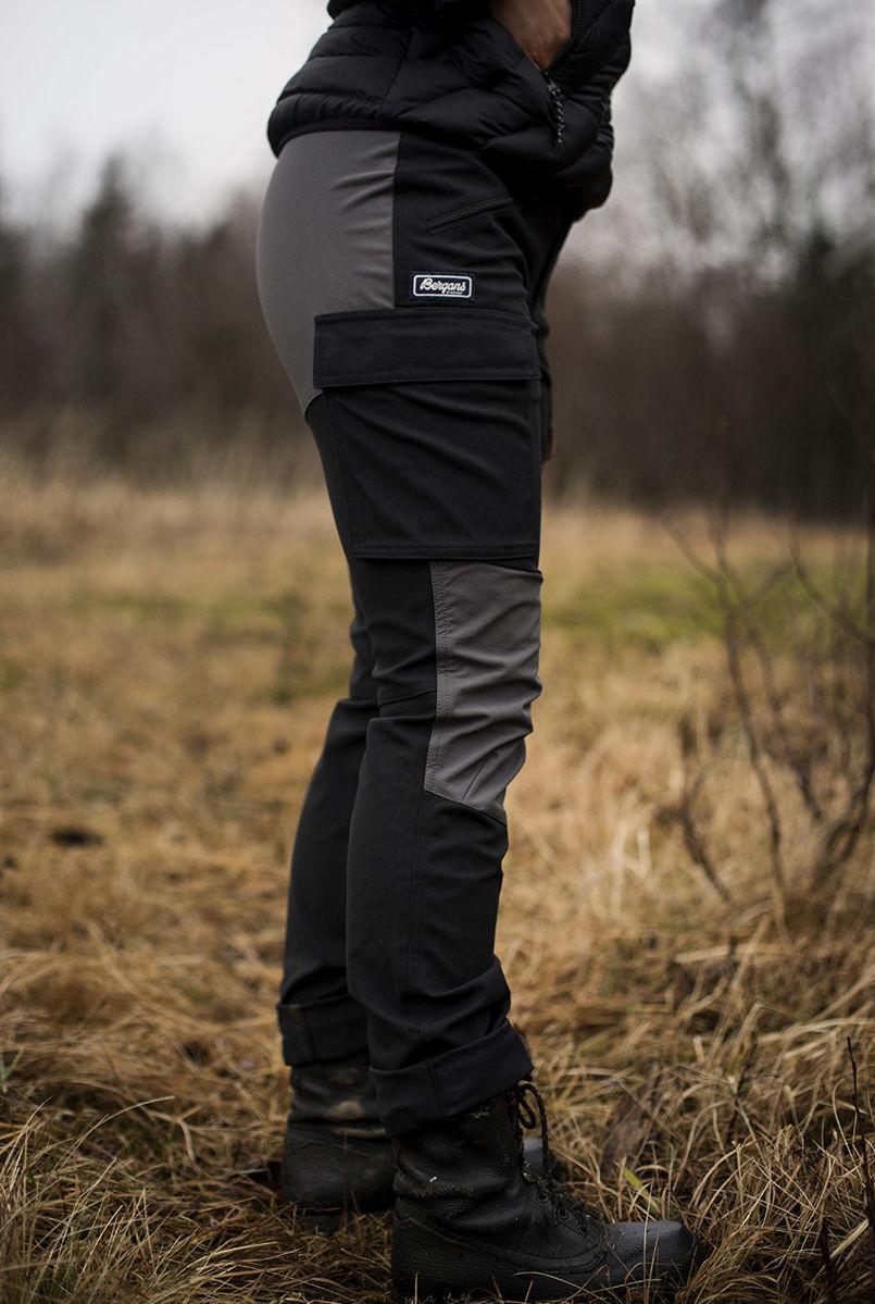 Bilde av Bergans  Nordmarka Hybrid W Pnt Black/SolidDkGrey