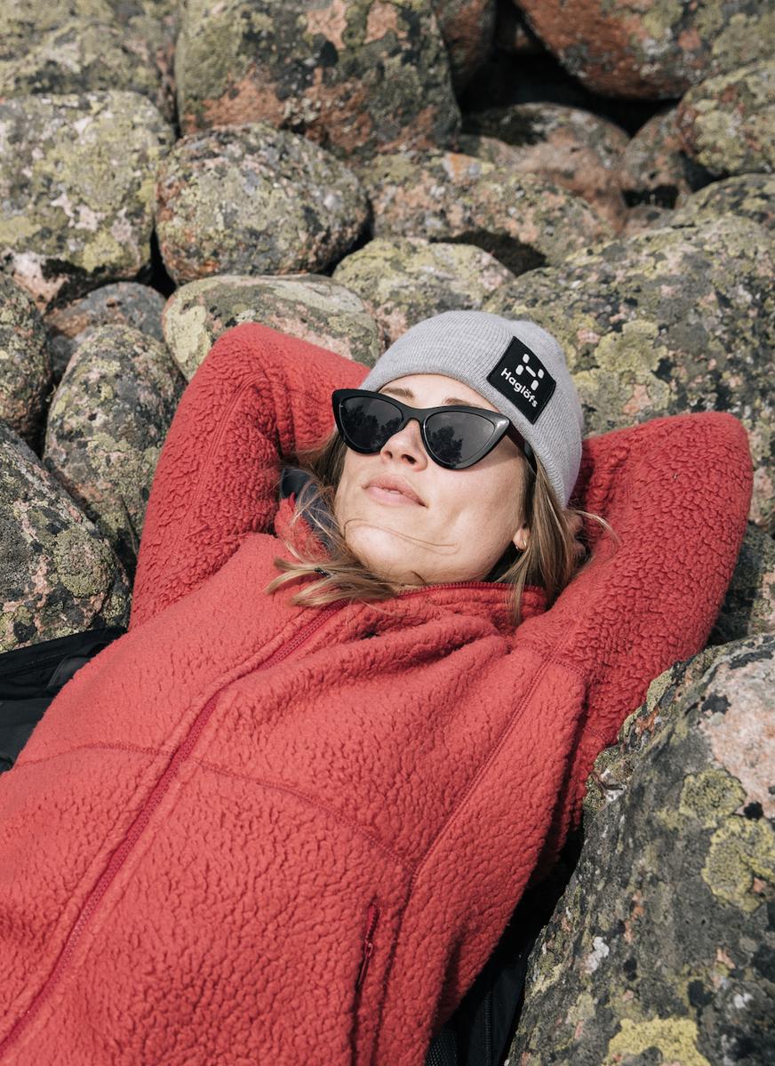 Bilde av Haglöfs  Pile Hood Women 4D4 Brick Red
