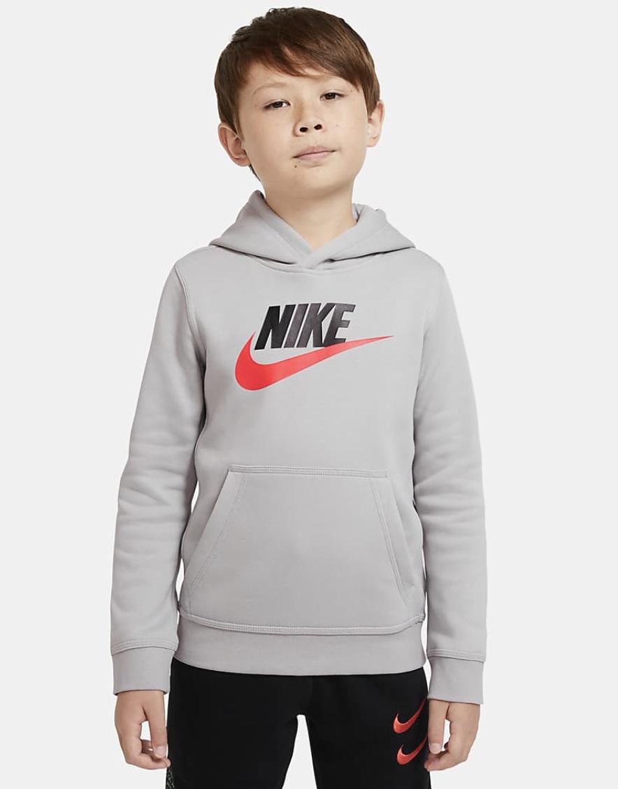 Bilde av Nike jr boys club hoodie CJ7861-077