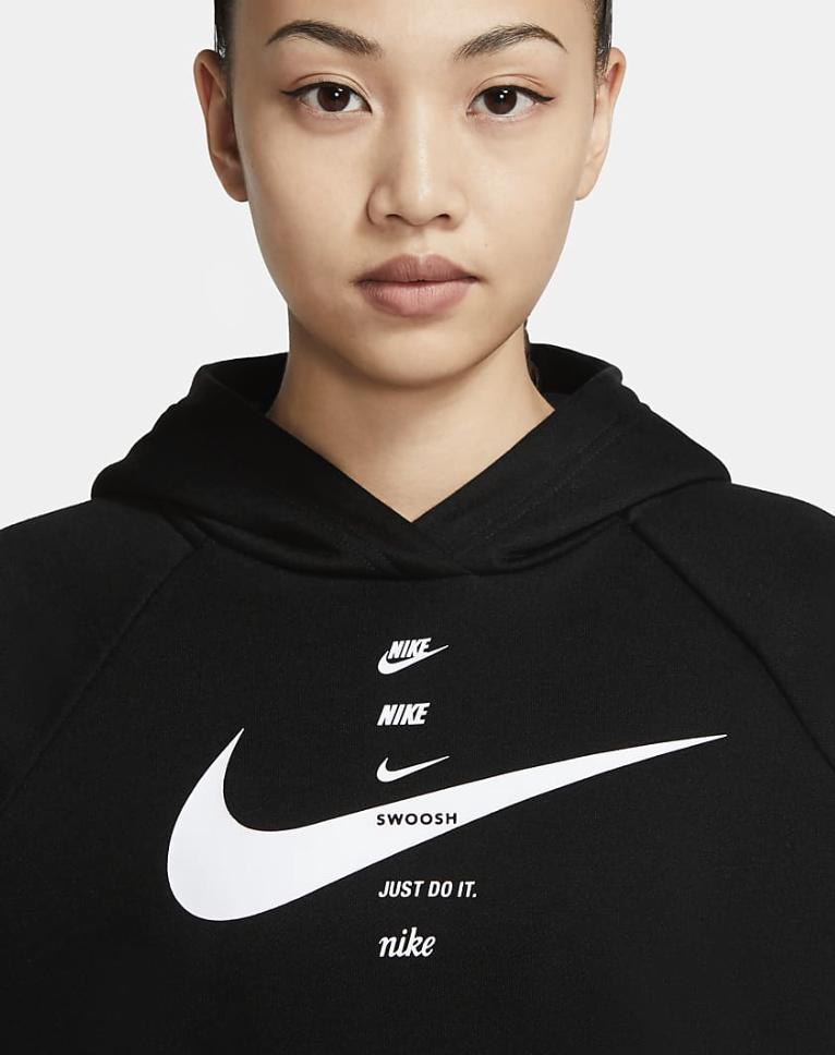 Bilde av Nike W hoodie flc CU5676-011