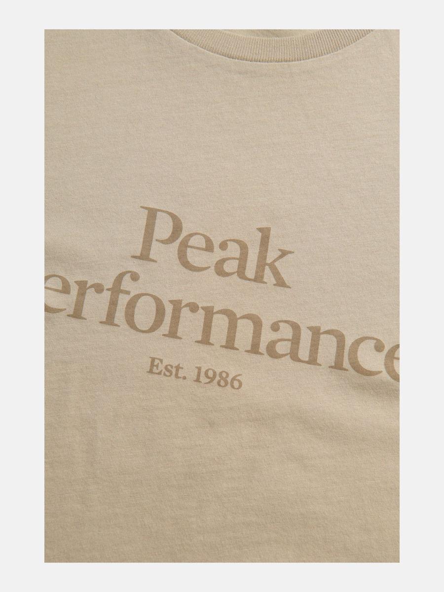 Bilde av Peak Performance  W Original Tee Celsian Beige