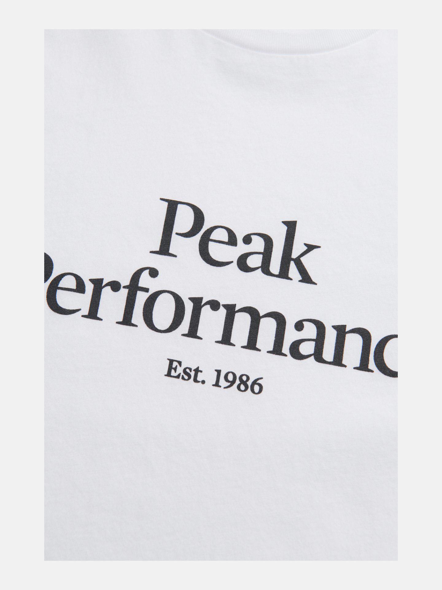 Bilde av Peak Performance  W Original Tee White
