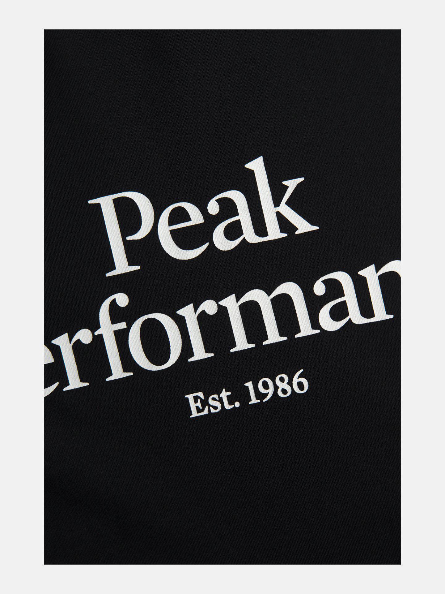 Bilde av Peak Performance  M Original Tee Black