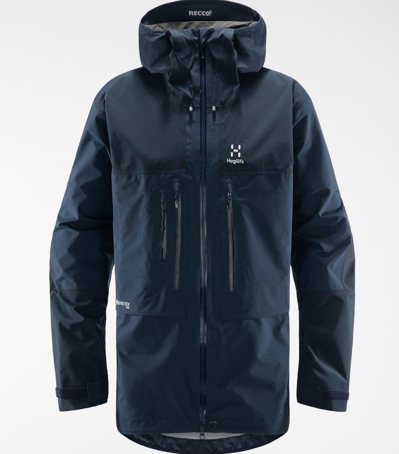 Bilde av Haglöfs  Roc Nordic GTX Pro Jacket Men 3N5 Tarn Blue