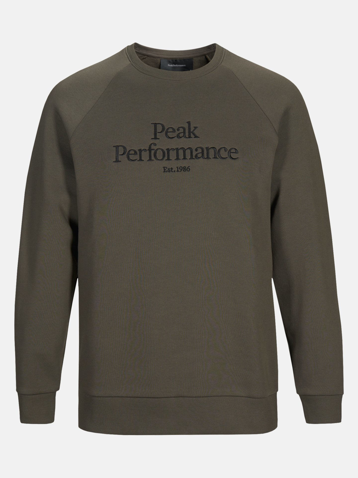 Bilde av Peak Performance  M Original Crew 010 Black Olive