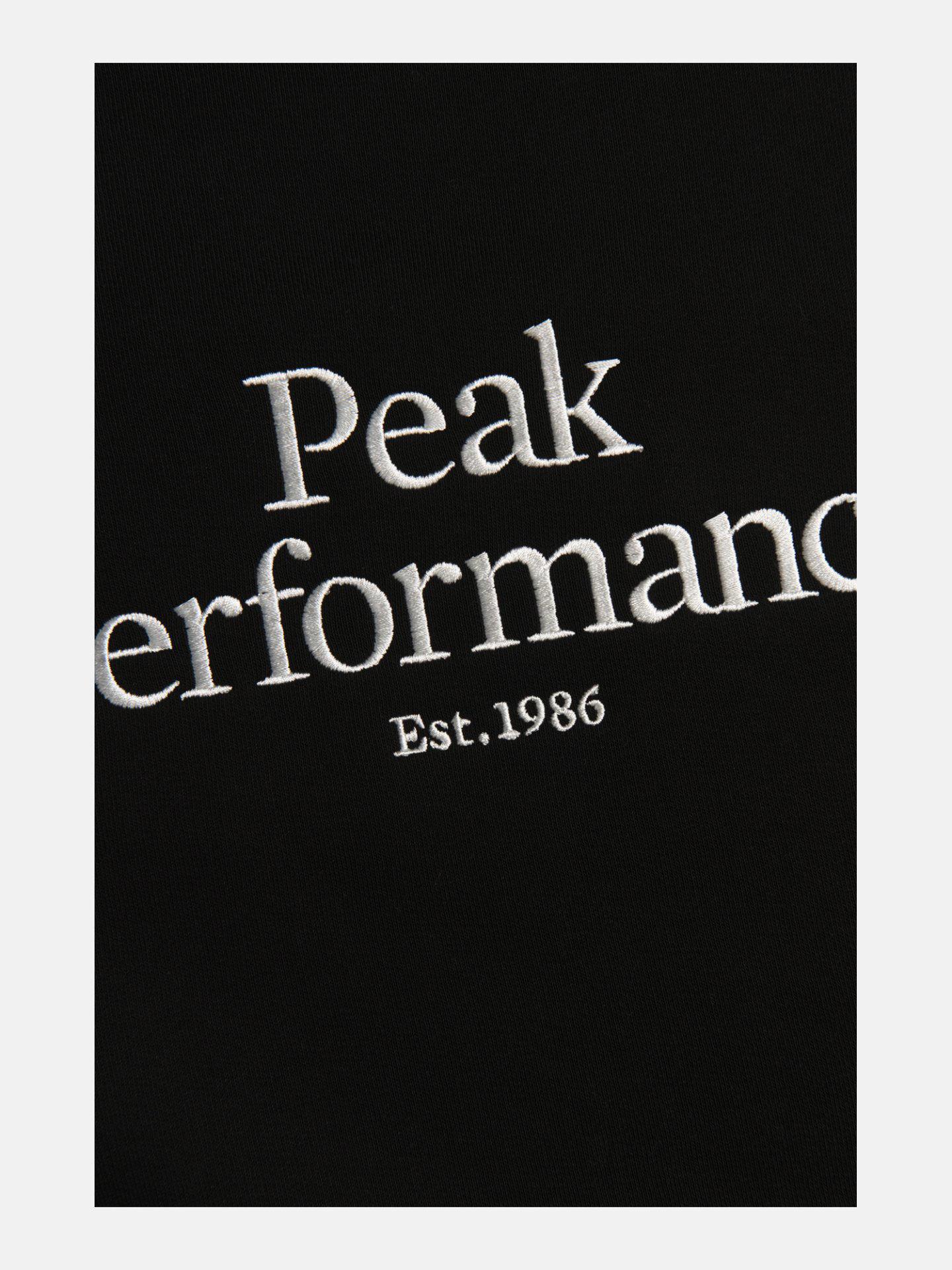Bilde av Peak Performance  M Original Crew 080 Black