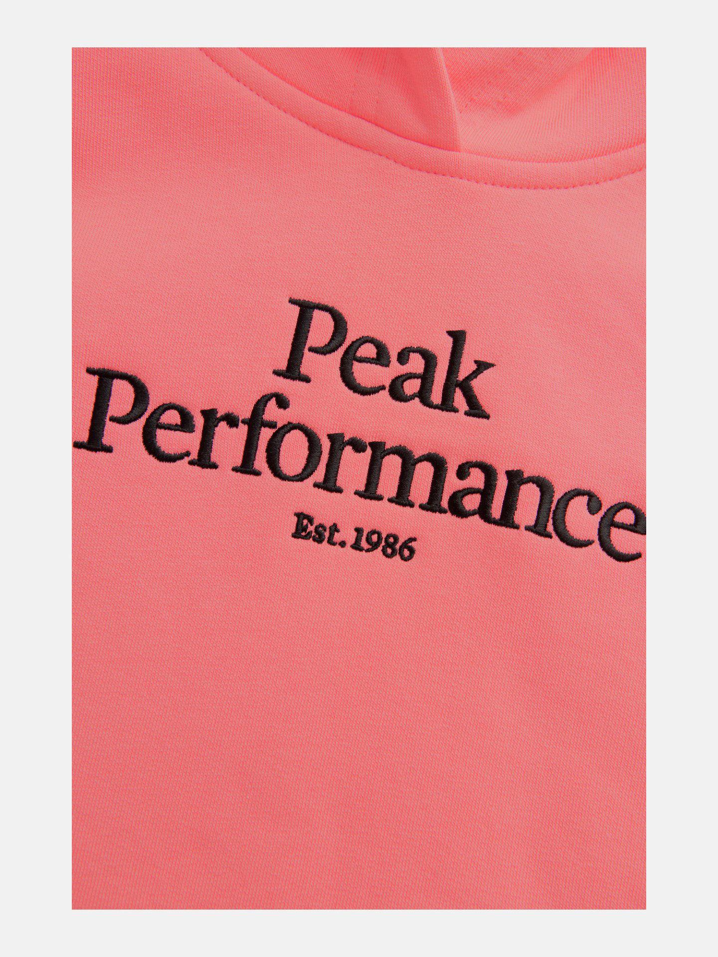 Bilde av Peak Performance  Jr Original Hood 070 Alpine Flower