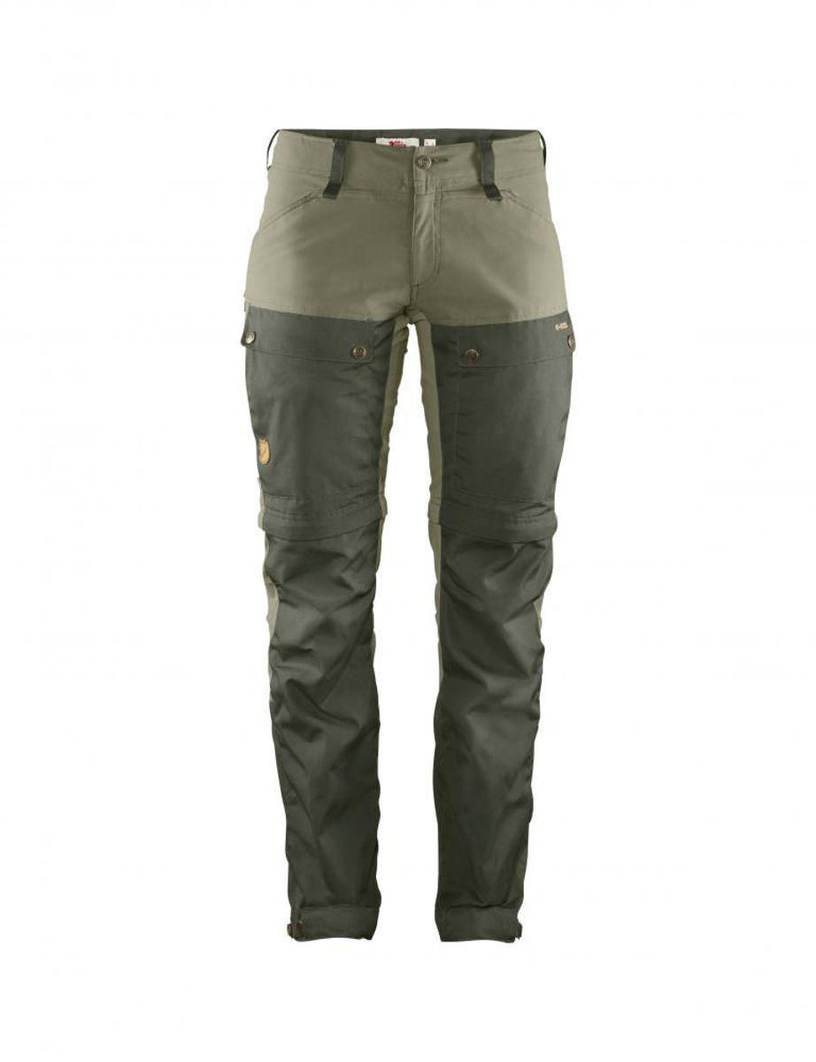 Bilde av Fjällräven  Keb Gaiter Trousers W 662-625 Deep Forest-Laurel Green