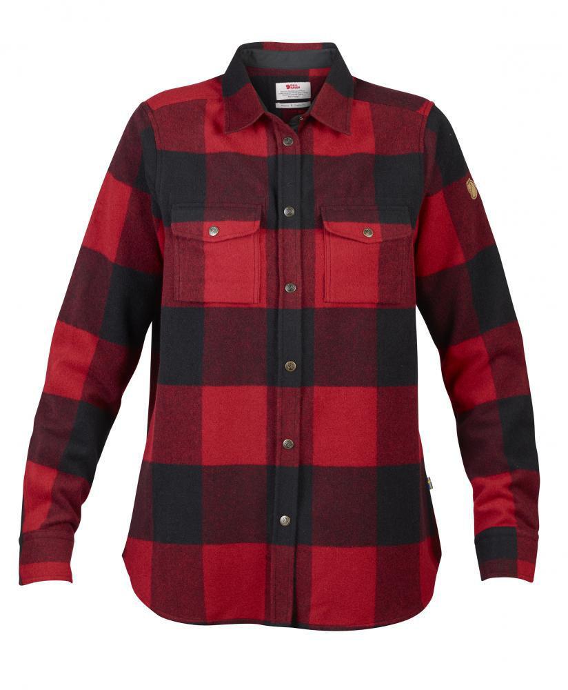 Bilde av Fjällräven  Canada Shirt LS W 320 Red