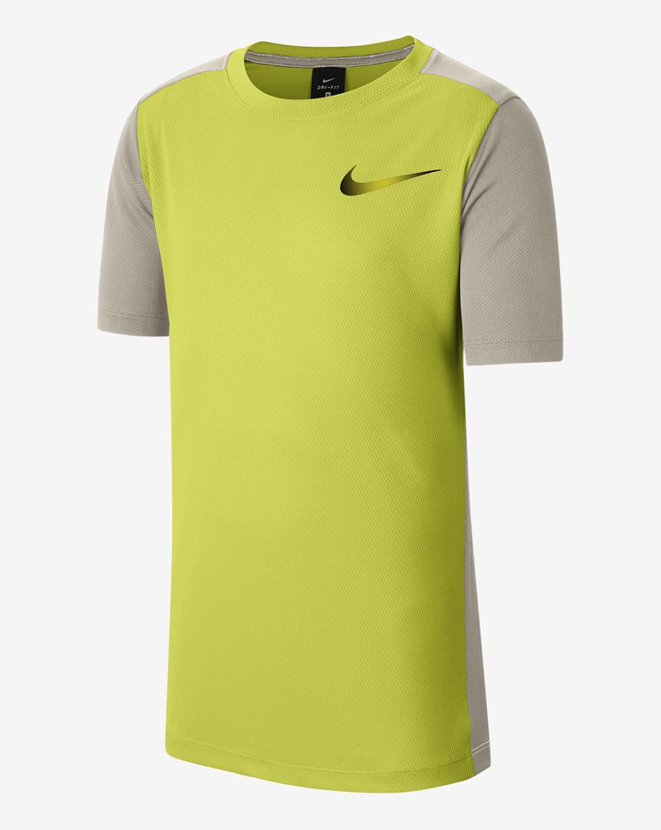 Bilde av Nike  B NK INSTACOOL JR SS TOP CU9150-702