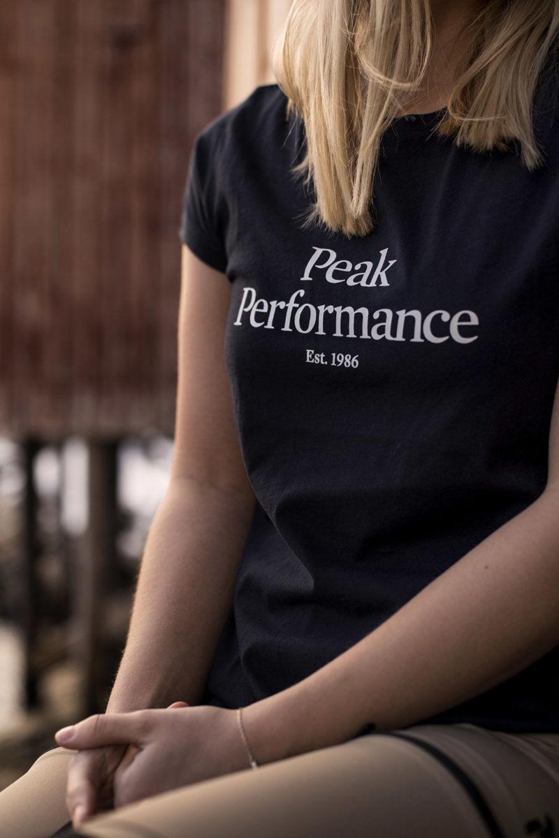 Bilde av Peak Performance  W Original Tee Black