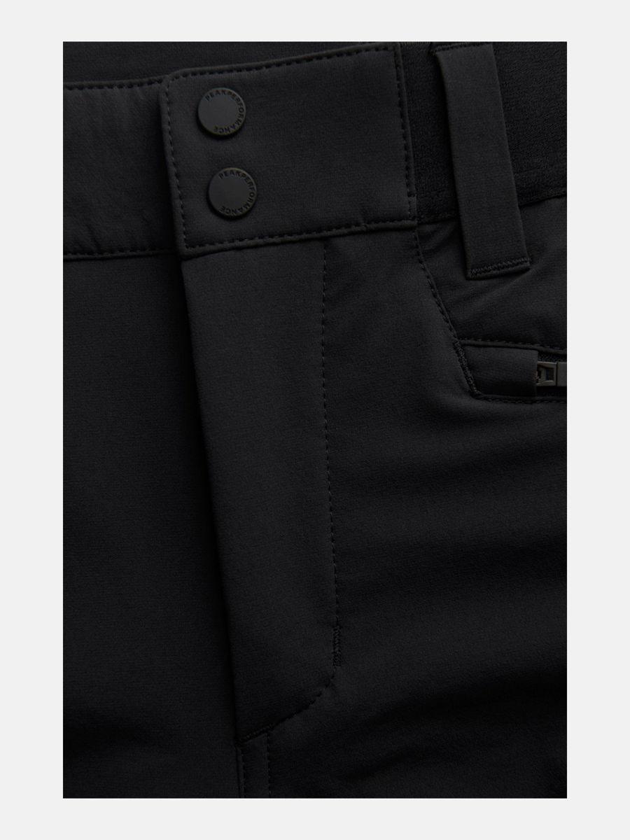 Bilde av Peak Performance  W Light Softshell V Pants 020 Black