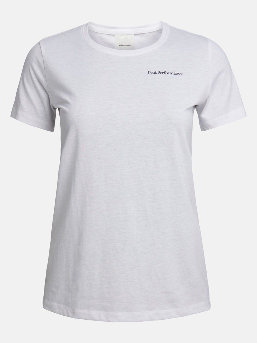 Bilde av Peak Performance  W Explore Pp Tee 010 White