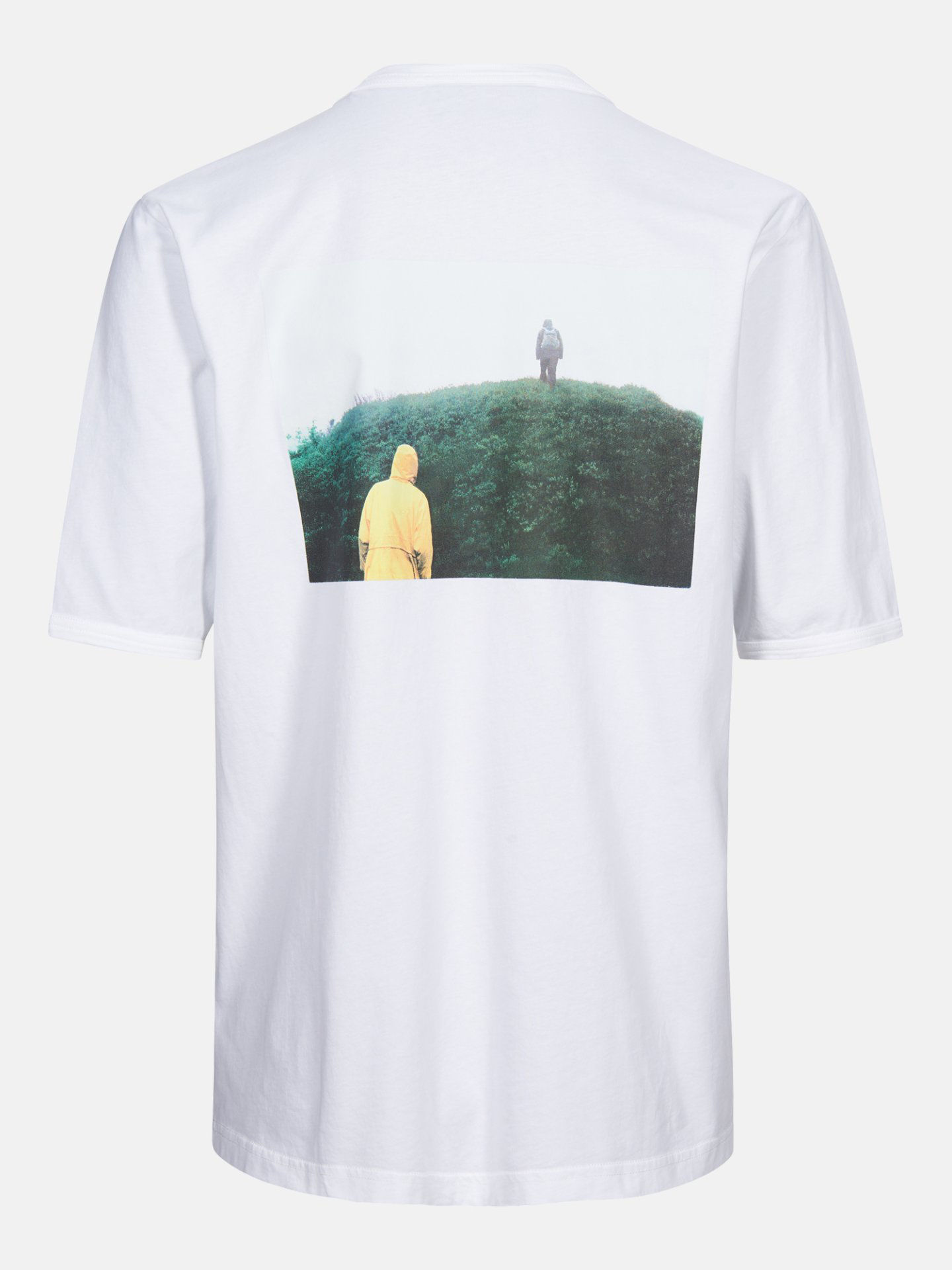 Bilde av Peak Performance  M Stowaway Tee 010 White