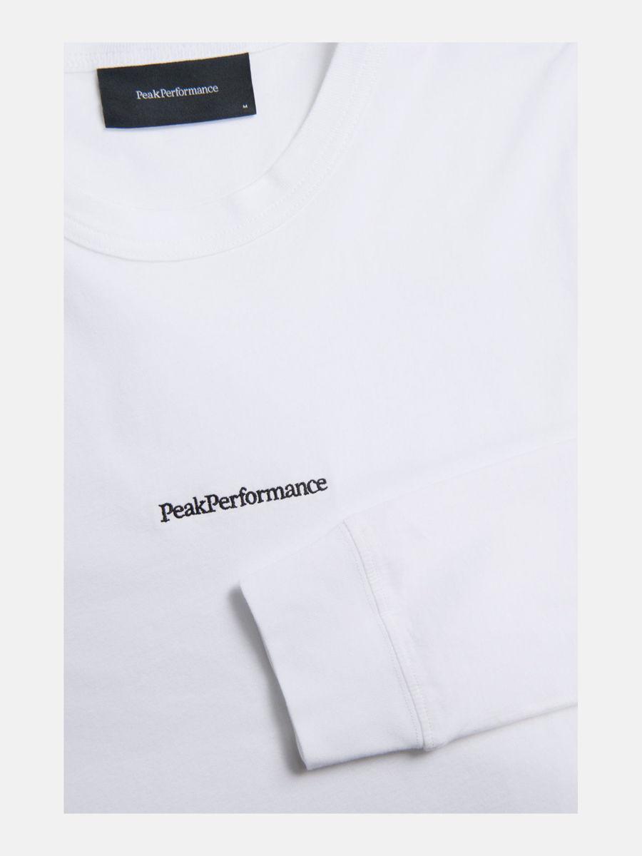 Bilde av Peak Performance  M Stowaway Long Sleeve 010 White