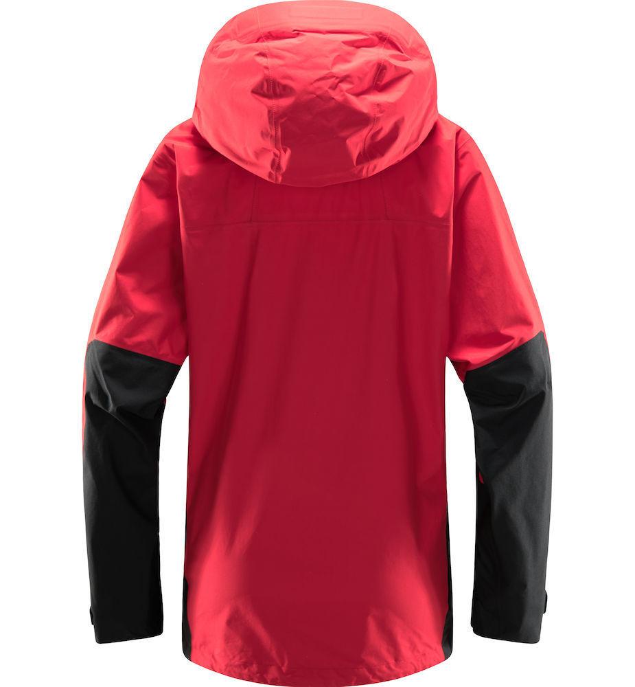 Bilde av Haglöfs  Roc Sheer Gtx Jacket Women 4NC Scarlet Red/True Black