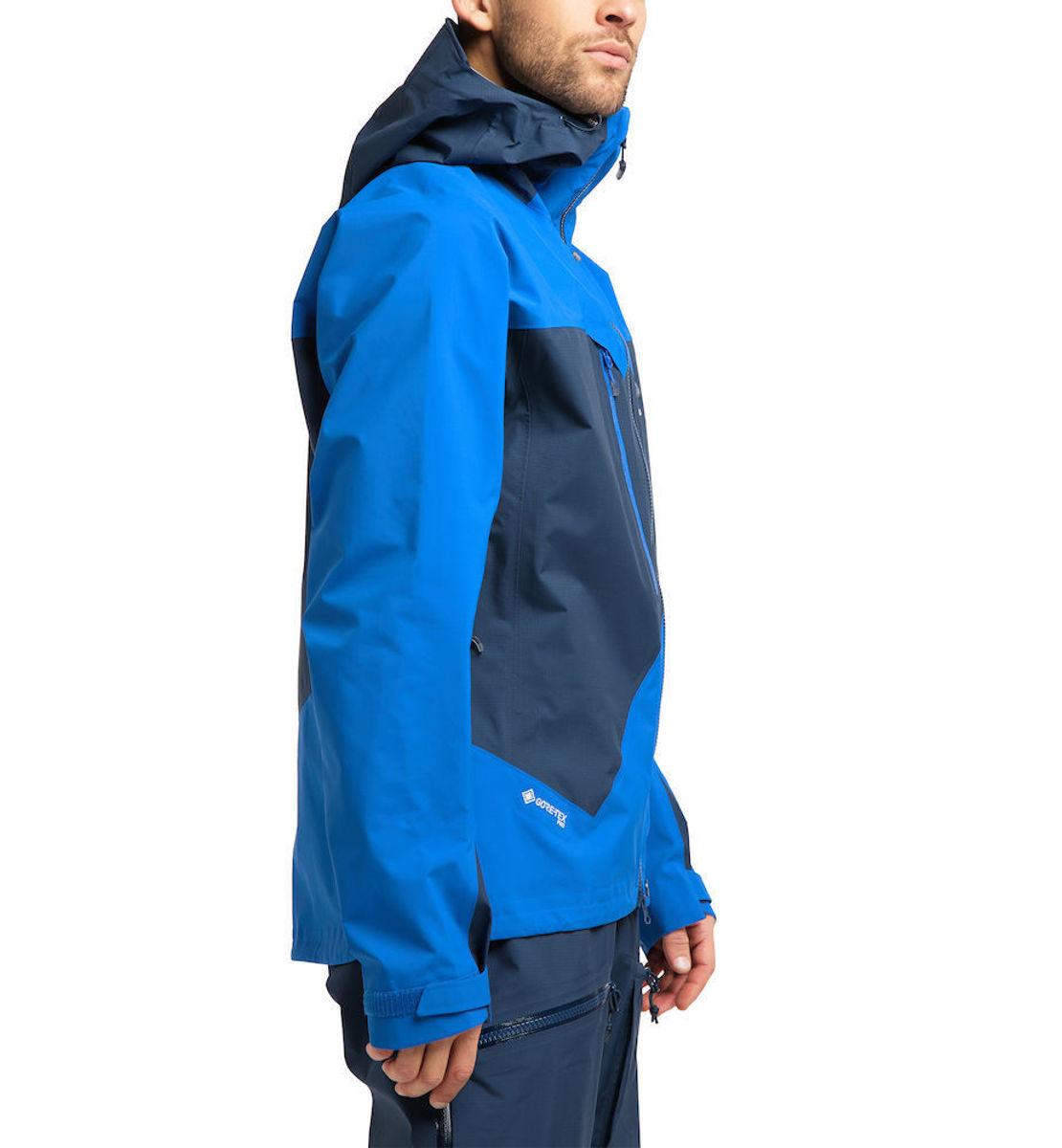 Bilde av Haglöfs  Spitz Jacket Men 4AA Tarn Blue/Storm Blue