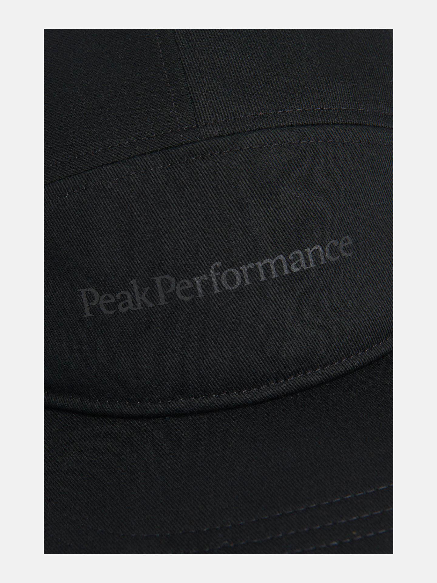 Bilde av Peak Performance  5 Panel Cap 020 Black