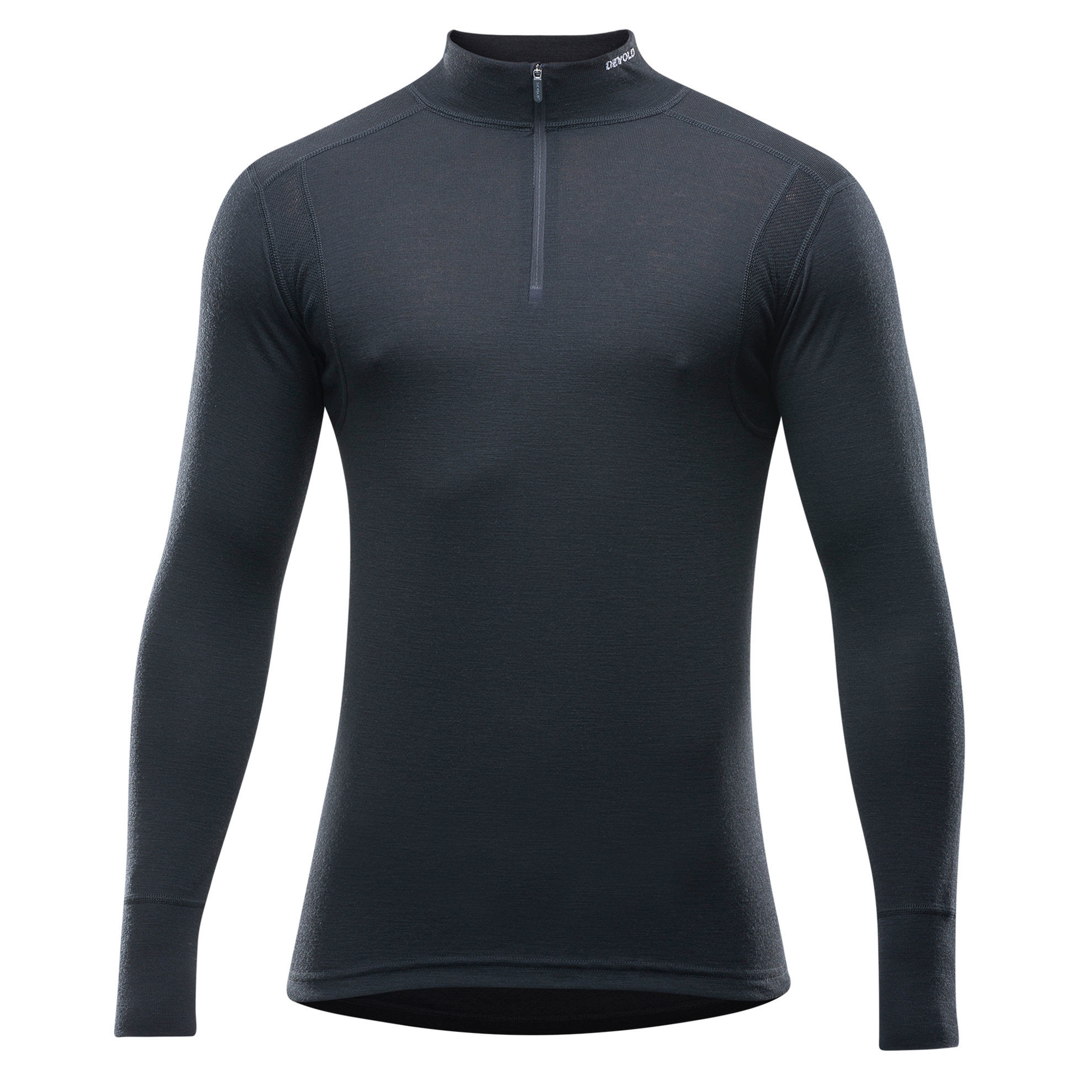 Bilde av Devold  HIKING MAN HALF ZIP NECK 950 Black