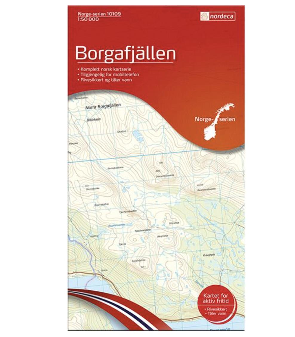 Bilde av Nordeca  Borgarfjällen