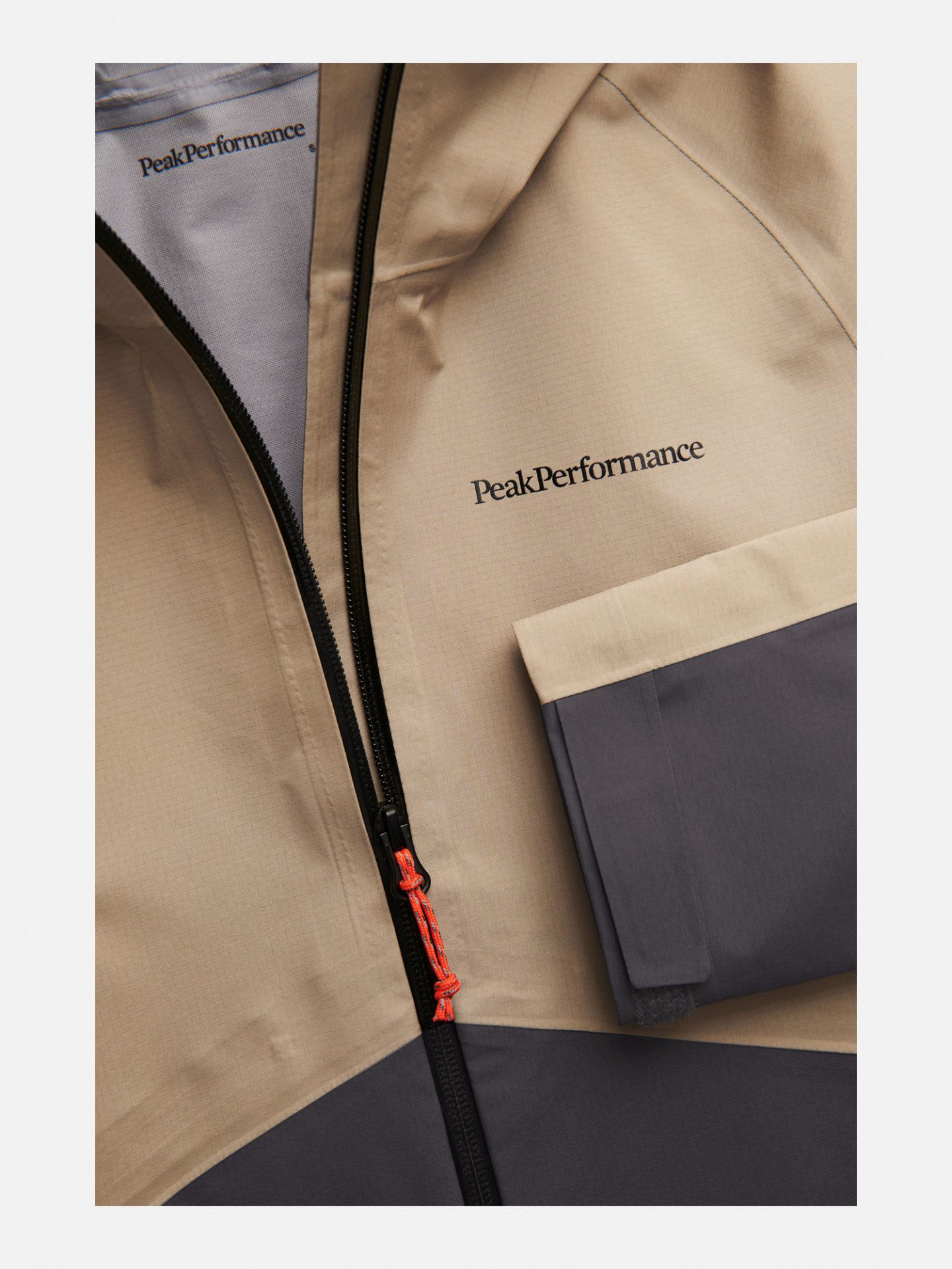 Bilde av Peak Performance  W Limit Jacket 030 True Beige
