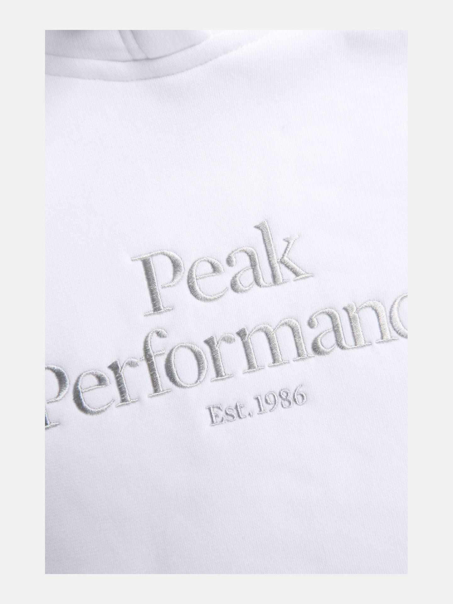 Bilde av Peak Performance  W Original Hood 130 White