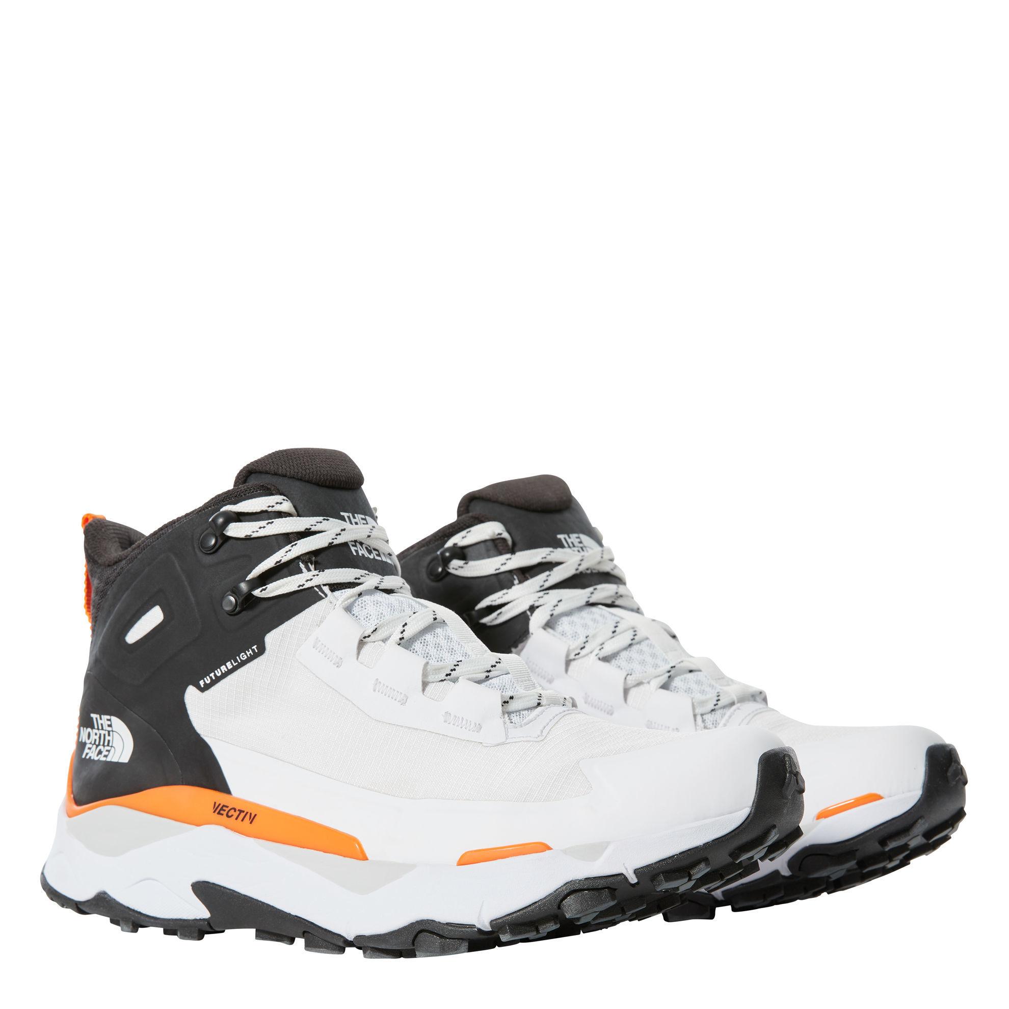 Bilde av The North Face Men's Vectiv Exploris Mid Futurelight White/Black