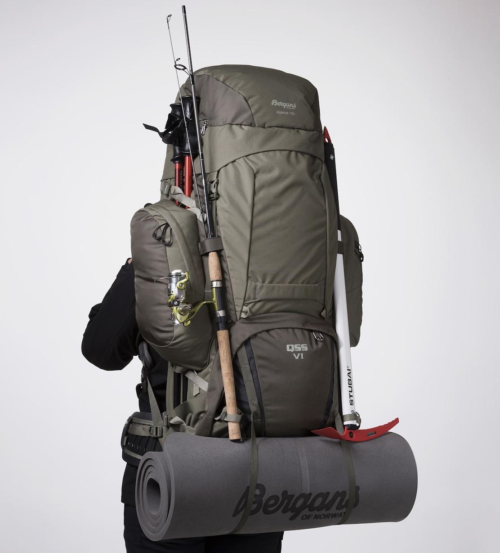 Bilde av Bergans  Alpinist V6 Medium 110L 13654 GreenMud/GreenMud