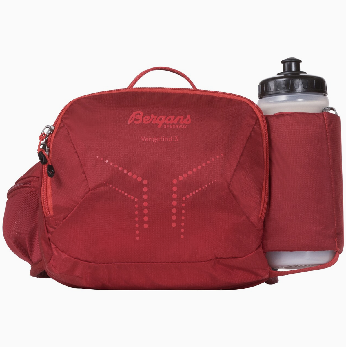 Bilde av Bergans  Vengetind Hip Pack 3 W/Bottle 671 Red