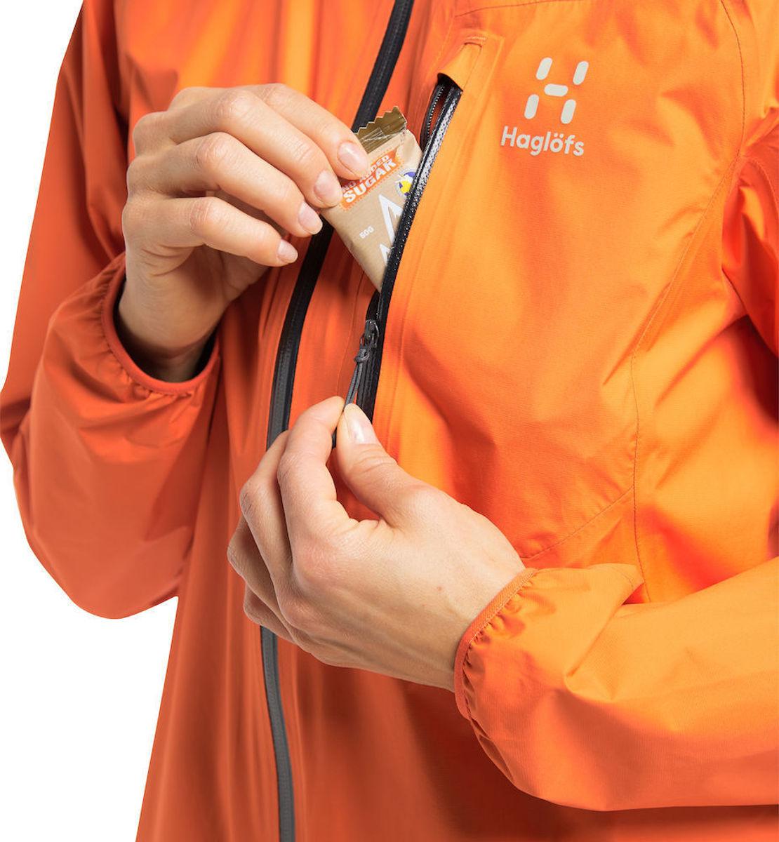 Bilde av Haglöfs  L.I.M Jacket Women 4N8 Flame Orange