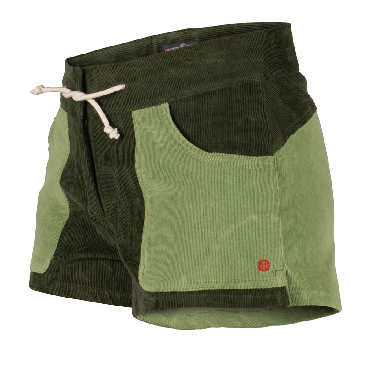 Bilde av Amundsen 3incher Concord shorts womens Olive/Moss Green WSS51.2.450