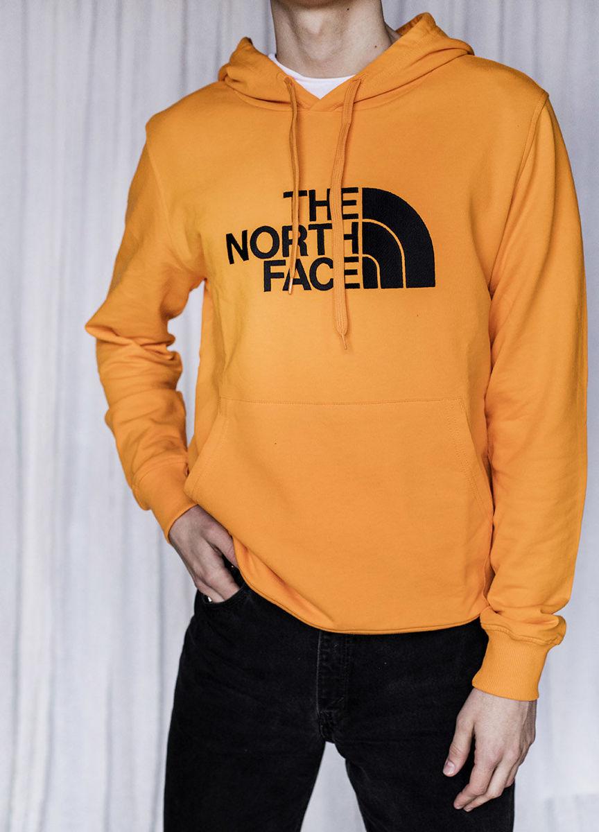 Bilde av The North Face M Light Drew Peak Pullover Hoodie, Light Exuberance Orange