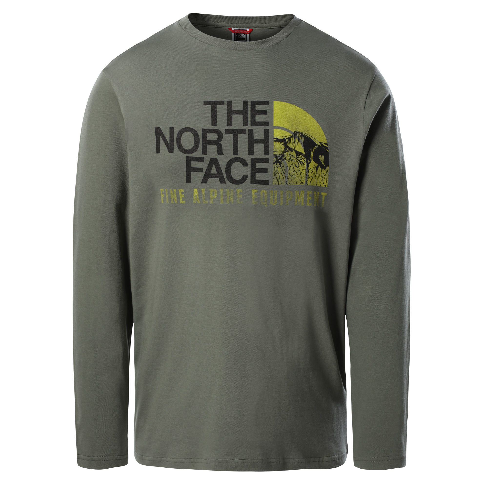 Bilde av The North Face M L/S Image Ideals Tee, Agave Green