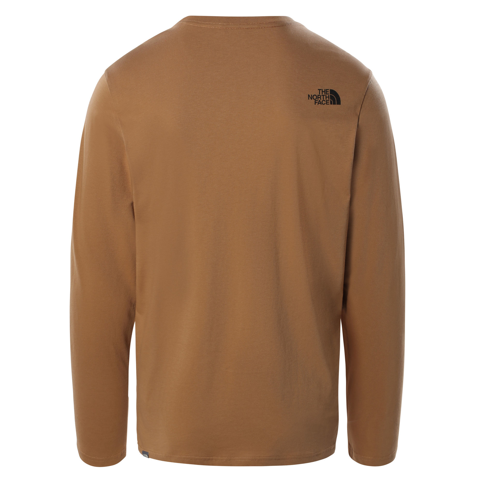 Bilde av The North Face M L/S Image Ideals Tee, Utility Brown