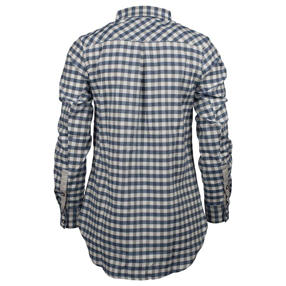 Bilde av Amundsen Vagabond Shirt Womens WSH52.1.540, Small Checkered Blue