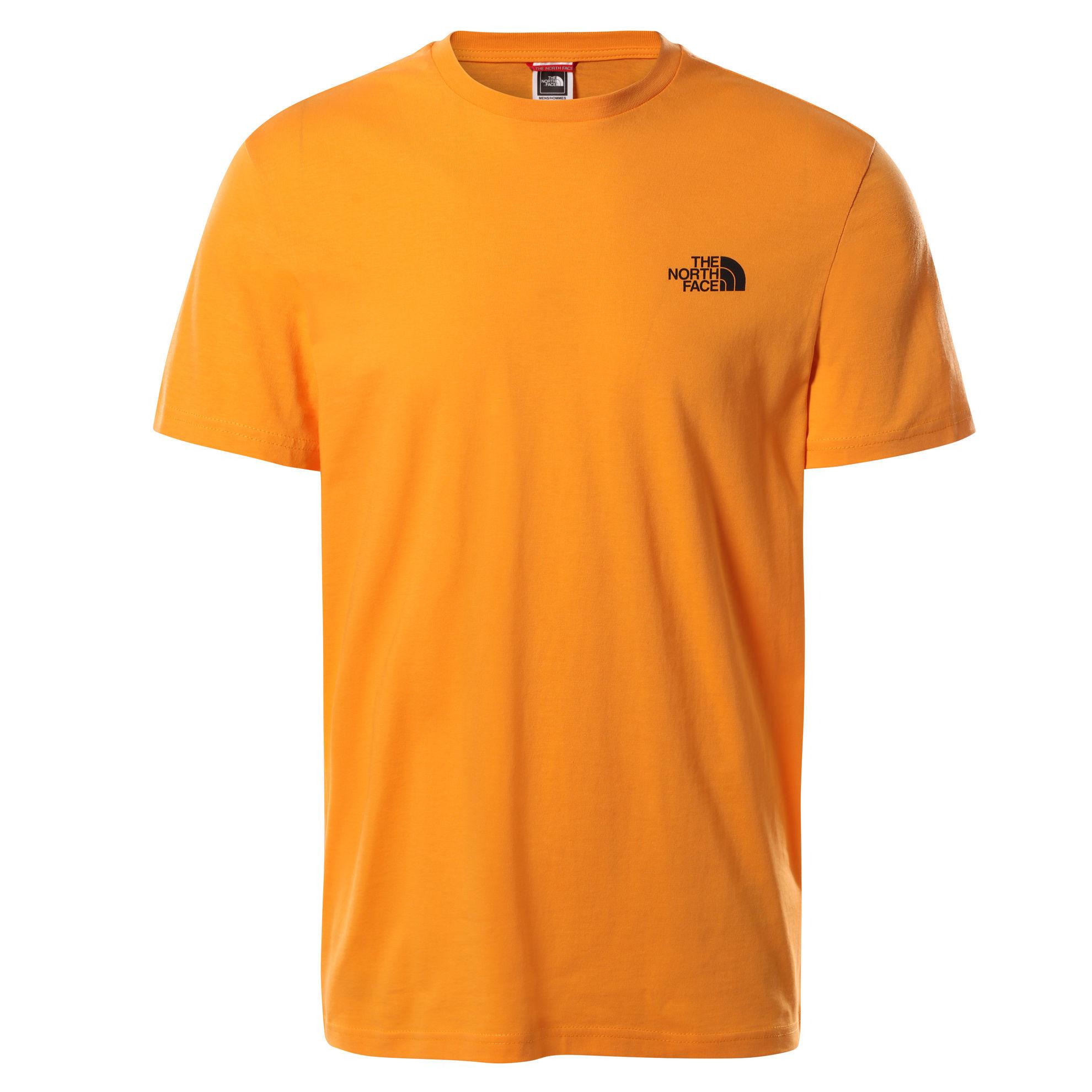 Bilde av The North Face  M S/S SIMPLE DOME TEE Light Exuberance Orange
