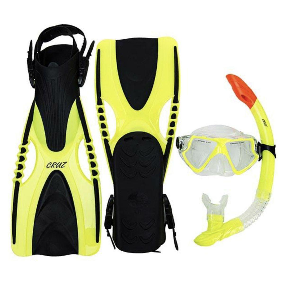 Bilde av Hani Faru Sr. Diving set CR1124 1001 Black