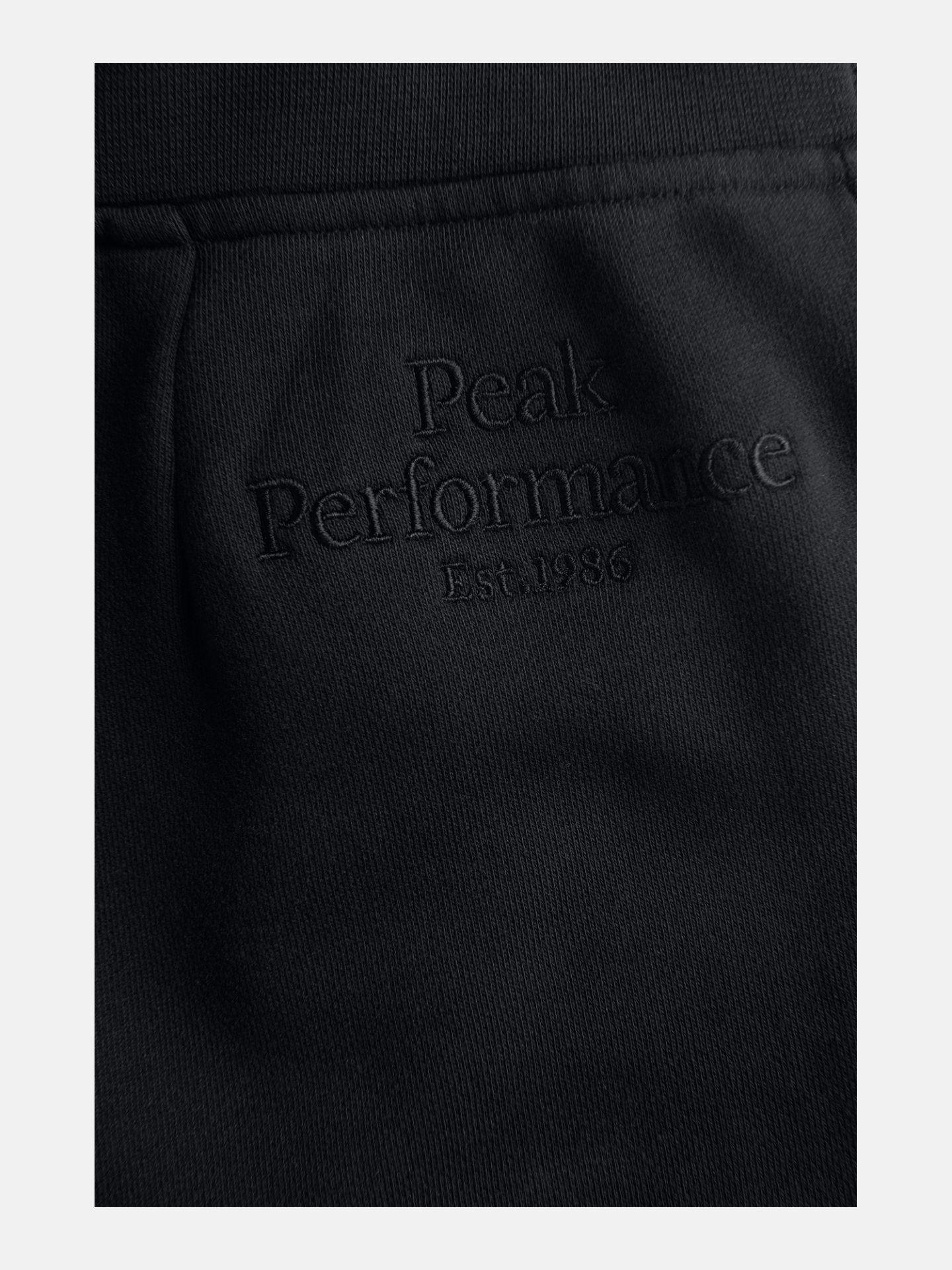 Bilde av Peak Performance  W Original Light Wide Pan 020 Black