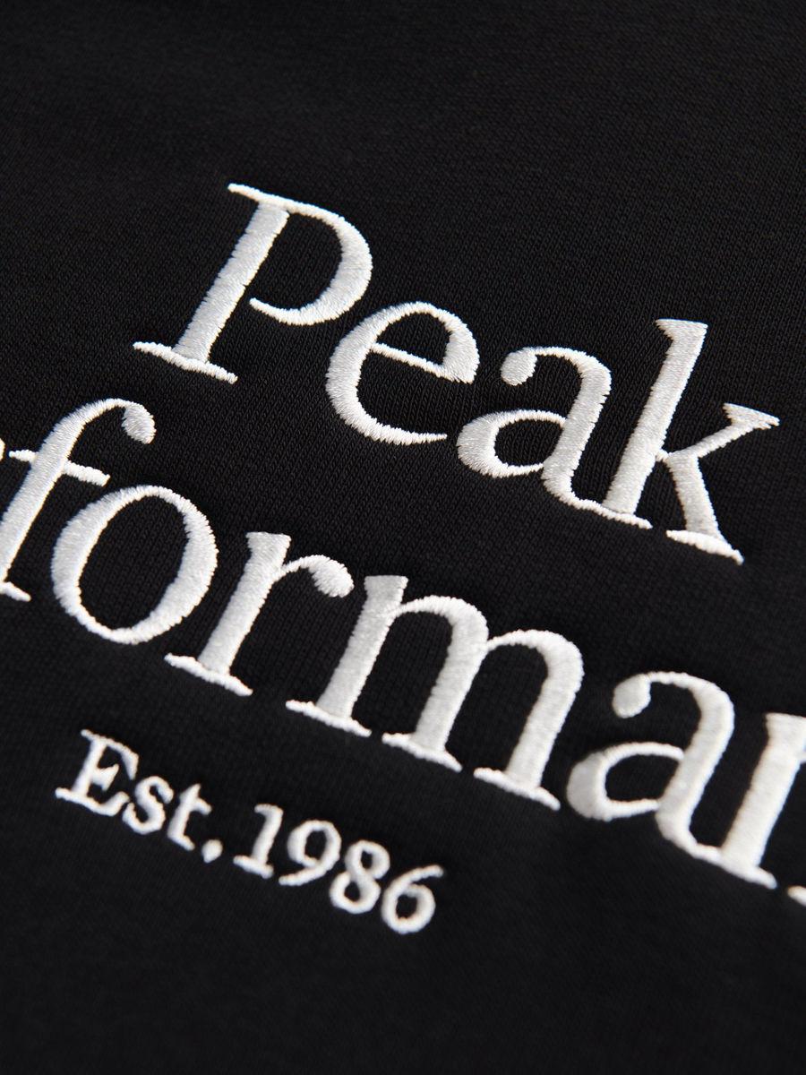 Bilde av Peak Performance  M Original Hood BLACK 100