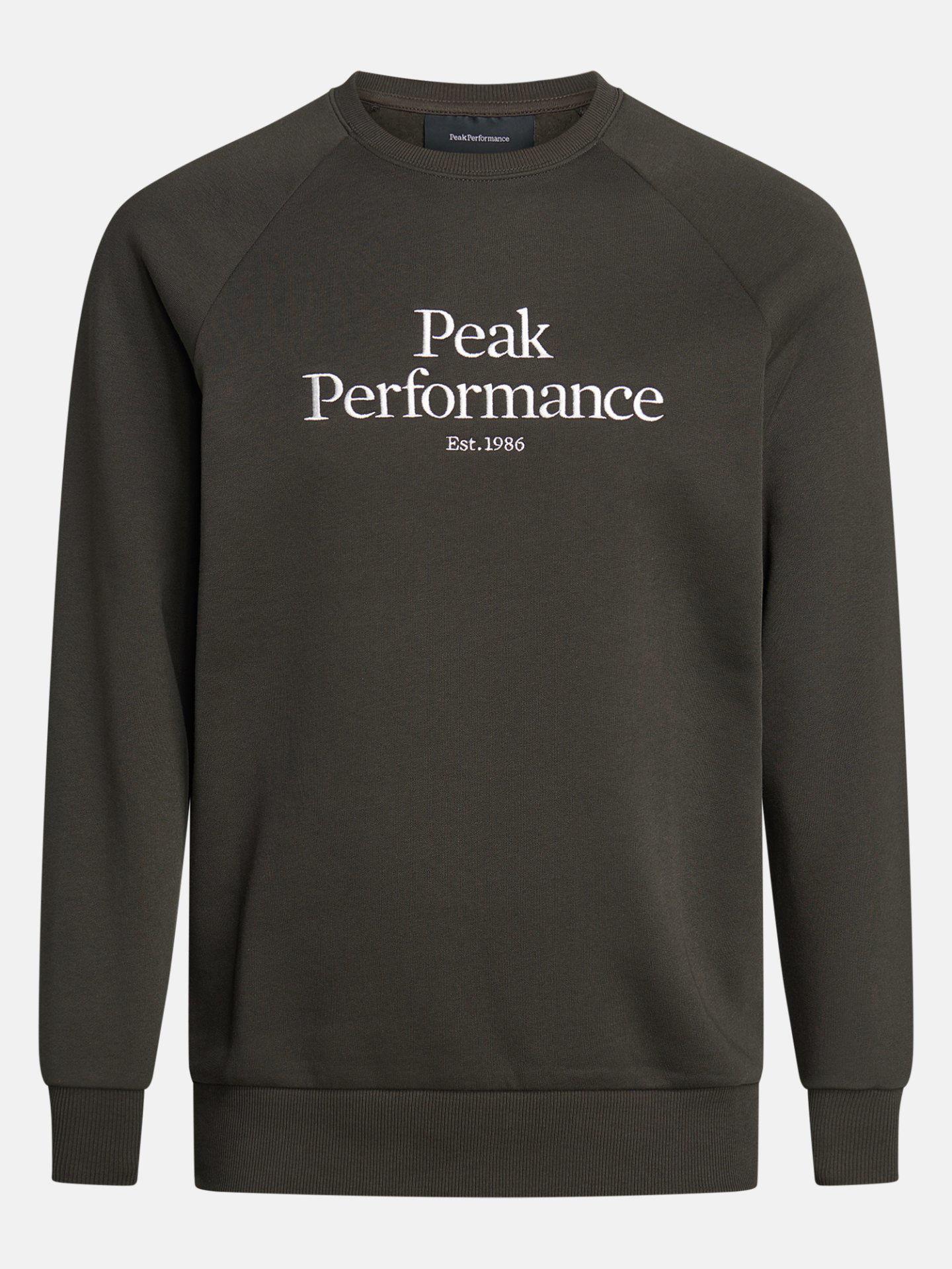 Bilde av Peak Performance  M Original Crew 070 Olive Extreme