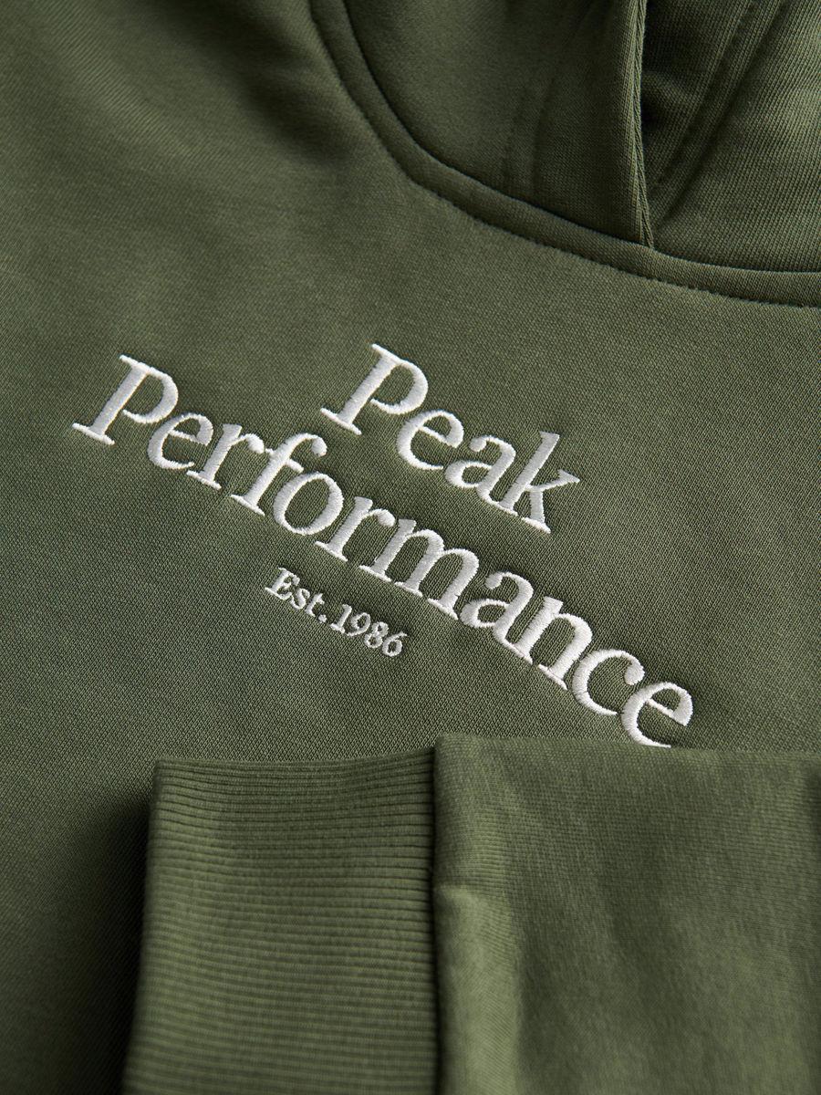Bilde av Peak Performance  Jr Original Hood 0110 Thrill Green