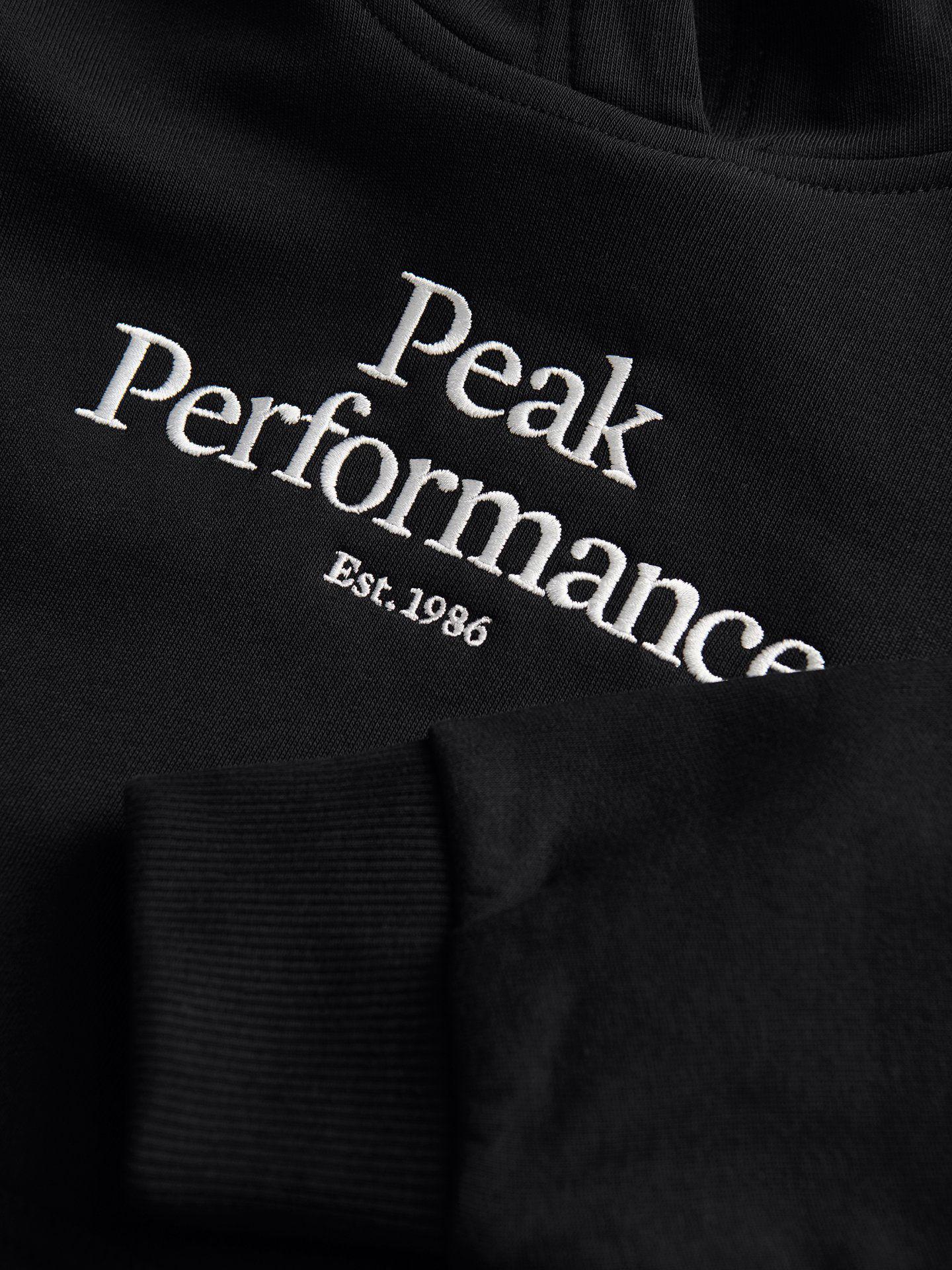 Bilde av Peak Performance  Jr Original Hood 060 Black