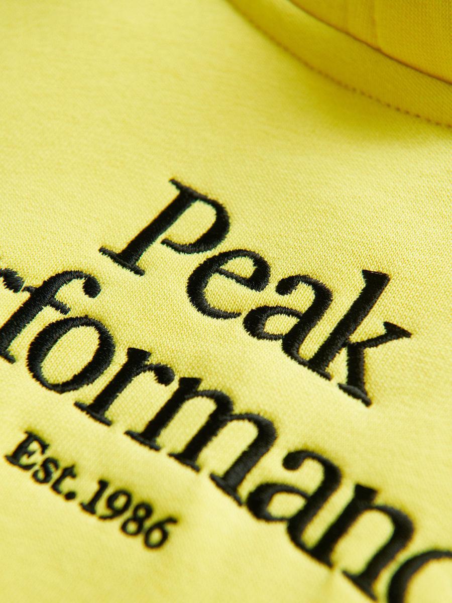 Bilde av Peak Performance  Jr Original Hood 140 Citrine