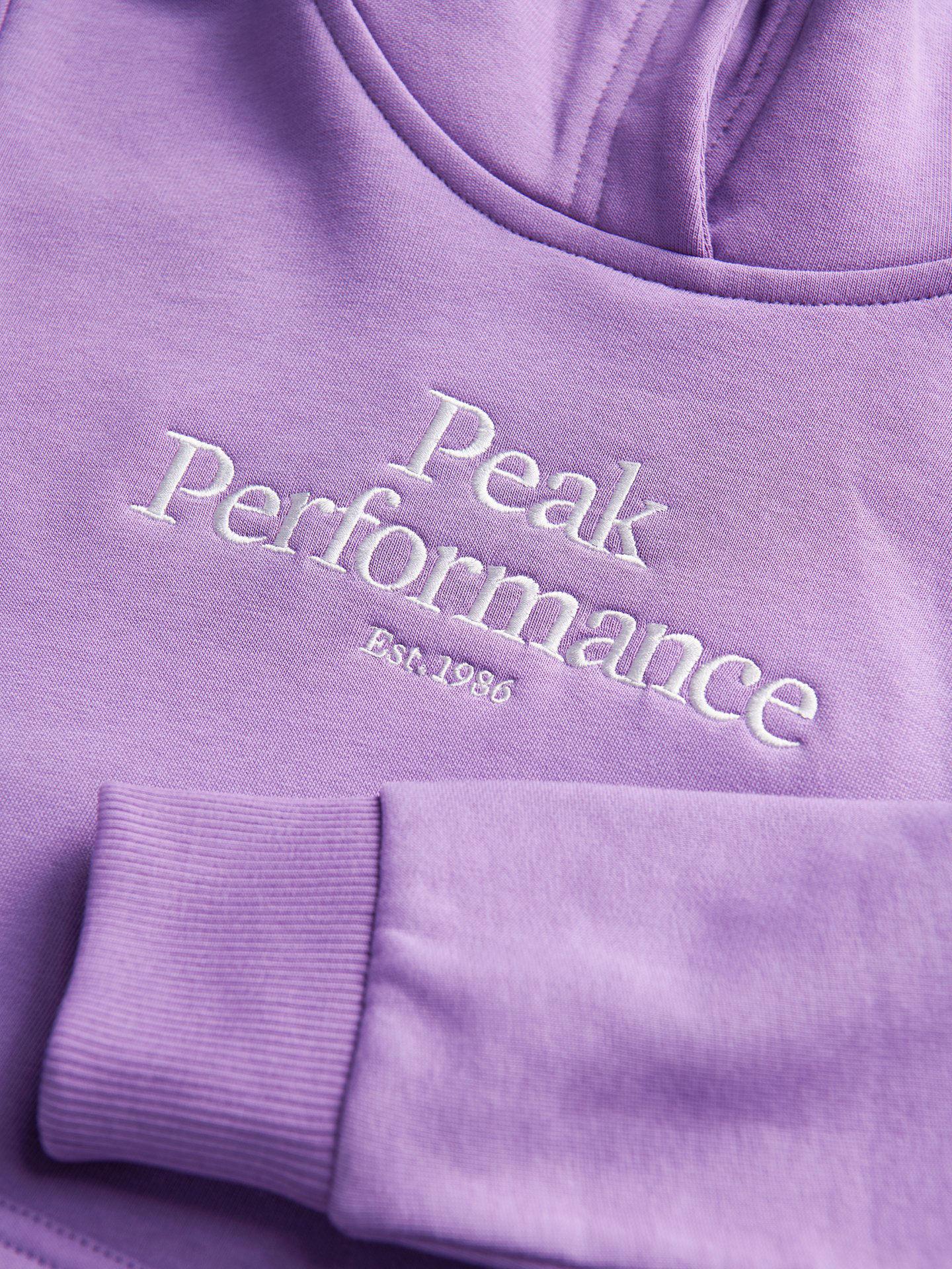 Bilde av Peak Performance  Jr Original Hood Action-Lilac